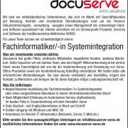 Karriere bei Docuserve